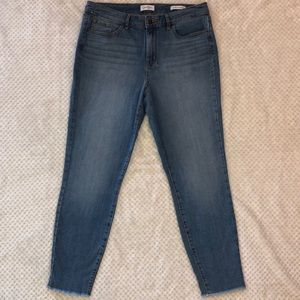 Jessica Simpson high rise skinny ankle jeans